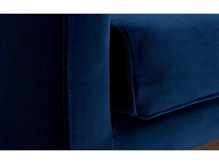 Sofa Klematisar 3-osobowa Welurowa z funkcją spania  (Deluxe - welur łatwozmywalny PEACOCK :deluxe/PEACOCK) Materiał obicia Tkanina Głębokość 91 cm Stała konstrukcja Pomieszczenie Salon