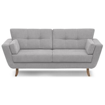 Sofa Krokusar 2-osobowa (Bawełna 63%, len 37% JASNOSZARY :len bawełna/jasnoszary)