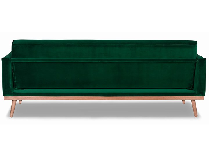 Sofa Klematisar 3-osobowa Welurowa z funkcją spania  (PIANO - welur łatwoczyszczący Musztarda:piano/MUSZTARDA 23) Głębokość 91 cm Stała konstrukcja Szerokość 215 cm Styl Klasyczny Styl Nowoczesny