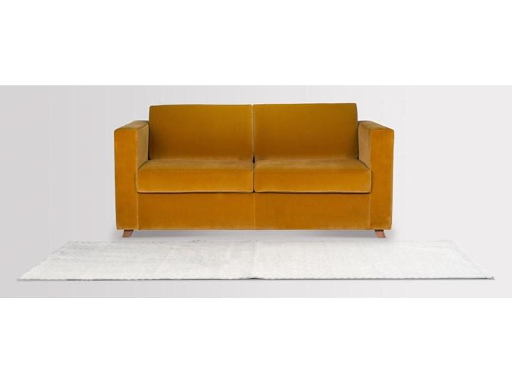 Sofa Narcisser 2-osobowa Welurowa z funkcją spania (Welur bawełna 100% CIEMNOZIELONY :welur/CIEMNOZIELONY) Kategoria Sofy i kanapy Stała konstrukcja Typ Gładkie