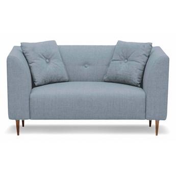 Mini sofa Ginster (Bawełna 63%, len 37% PUDROWY NIEBIESKI :len bawełna/pudrowy niebieski)