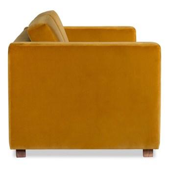 Sofa Narcisser 2-osobowa Welurowa z funkcją spania (Deluxe - welur łatwozmywalny PETROL :deluxe/PETROL)