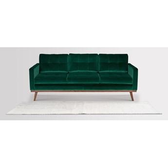 Sofa Fern 3-osobowa welurowa (Deluxe - welur łatwozmywalny Surf :deluxe/SURF)