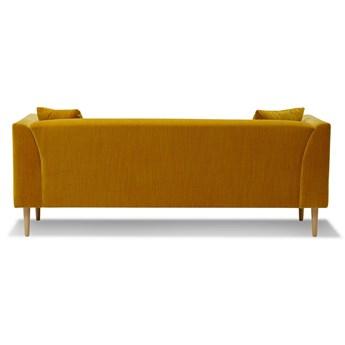 Sofa Ginster 3-osobowa Welurowa  (Deluxe - welur łatwozmywalny SIENA :deluxe/SIENA)