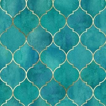 TAPETA PREMIUM Marokańska koniczyna