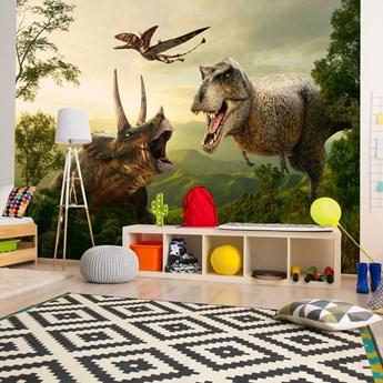 Fototapeta samoprzylepna - Dinozaurowy plac
