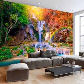 Fototapeta samoprzylepna - Wodospad Tat Kuang Si