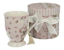 Kubek ceramiczny DUO PINK FLOWER 250 ml