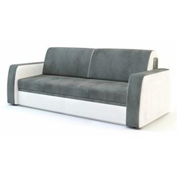 Sofa NESSI 3-osobowa, rozkładana   szarości    Salony Agata