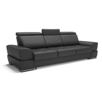 Sofa CAPRI 3-osobowa, rozkładana   czernie    Salony Agata