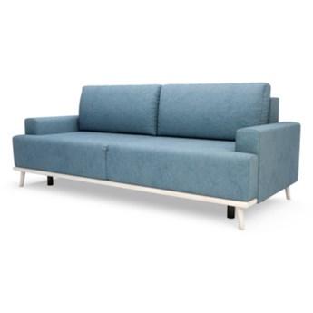 Sofa FORESTER 3-osobowa, rozkładana   zielenie błękity    Salony Agata