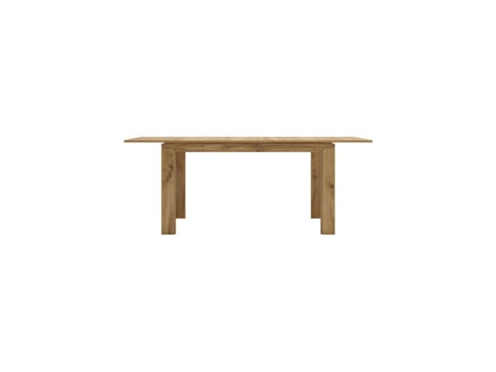 Salony Agata  Stół rozkładany BERGEN Długość 56 cm Wysokość 76 cm Drewno Średnica Długość 140 cm  Długość 200 cm  Szerokość 90 cm Liczba miejsc Do 6 osób