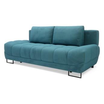 Sofa LUXO 3-osobowa, rozkładana   zielenie błękity    Salony Agata