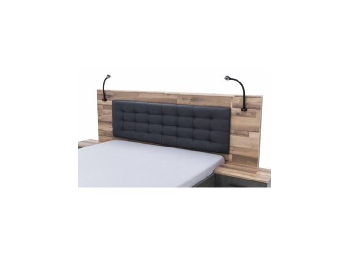 Salony Agata  Łóżko RICCIANO z szafkami nocnymi Kategoria Zestawy mebli do sypialni Pomieszczenie Sypialnia