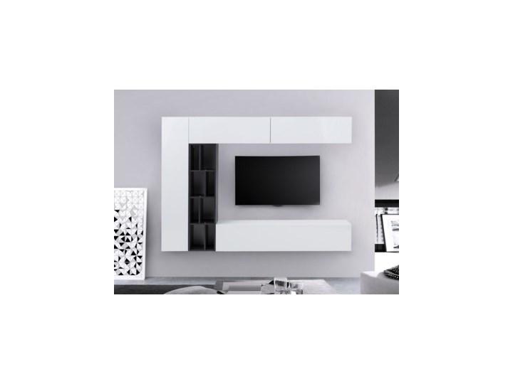 Salony Agata  Meblościanka VANCOUVER Kategoria Zestawy mebli do sypialni Kolor Biały