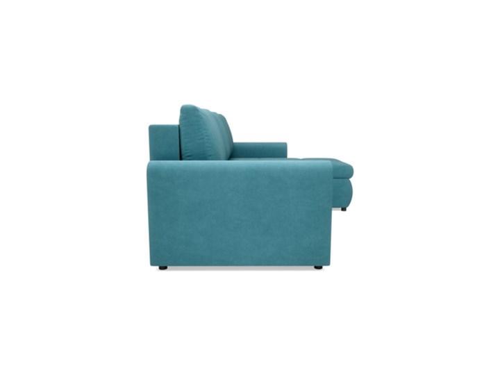 Salony Agata  Narożnik MUNA rozkładany   zielenie błękity Prawostronne Szerokość 226 cm Wysokość 85 cm Kolor