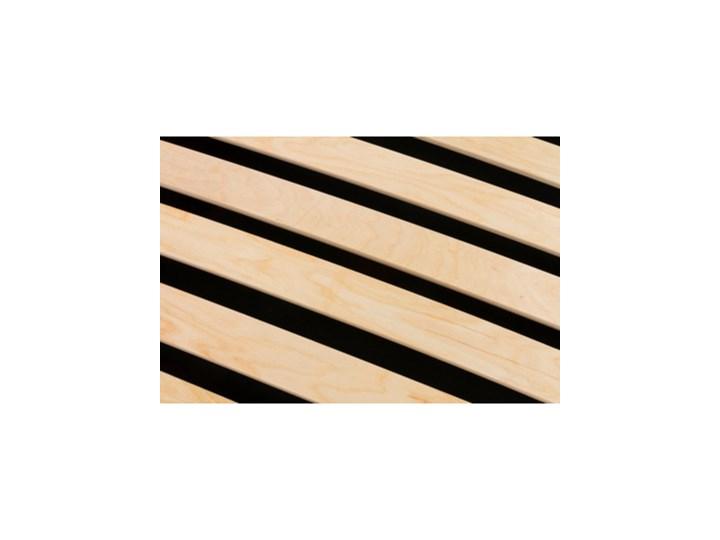 Salony Agata  Łóżko FABRIZZIO SQUERE P 160x200 ze stelażem, z pojemnikiem Łóżko tapicerowane Łóżko pikowane Rozmiar materaca 160x200 cm Tkanina Metal Styl Nowoczesny