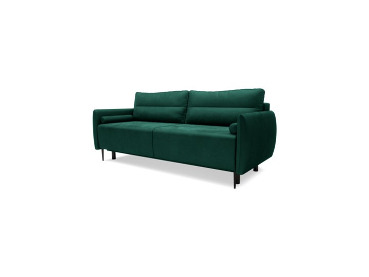 Sofa KIOTO 3-osobowa, rozkładana ZIELONY_NIEBIESKI Salony Agata