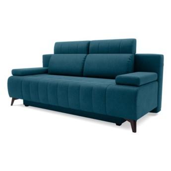 Sofa ALVARO 3-osobowa, rozkładana    ZIELONY_NIEBIESKI  Sofa 3-osobowa Salony Agata