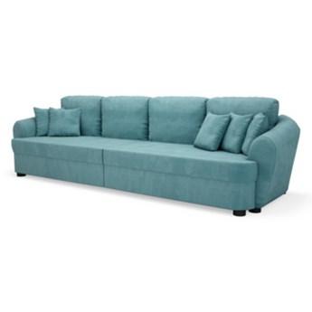 Sofa BIG SOFA 4-osobowa, rozkładana   zielenie błękity    Salony Agata