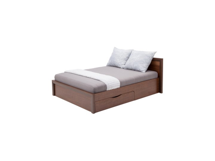 Salony Agata  Łóżko PARIS 140      140x200 Drewno Rozmiar materaca 140x200 cm Łóżko drewniane Kategoria Łóżka do sypialni