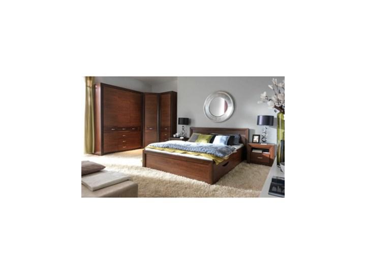 Salony Agata  Łóżko PARIS 140      140x200 Łóżko drewniane Drewno Rozmiar materaca 140x200 cm