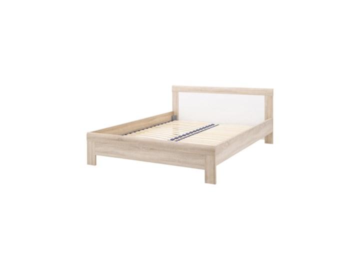 Salony Agata  Łóżko JULIETTA      140x200 Kategoria Łóżka do sypialni Łóżko drewniane Kolor Beżowy