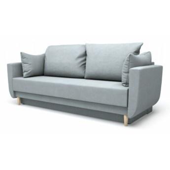 Sofa TRIXO 3-osobowa, rozkładana   szarości    Salony Agata