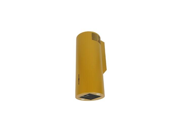 Okap przyścienny MAAN Elba W39 Złoty Okap kominowy Sterowanie Elektroniczne