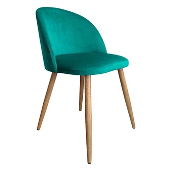 Chair KALIPSO marine MG-20 material with oak leg