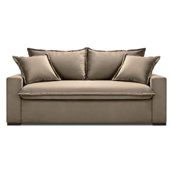 Beżowa rozkładana sofa Kooko Home Mezzo