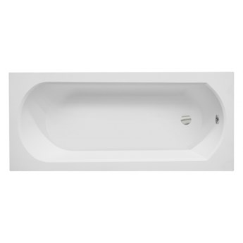 Wanna prostokątna Intrica, 170x75 cm, biała