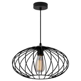 Czarna druciana lampa wisząca loft - EXX84-Elita