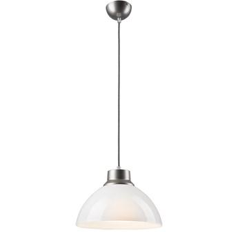 VERA Lampa wisząca 1-punktowa biała / srebrna