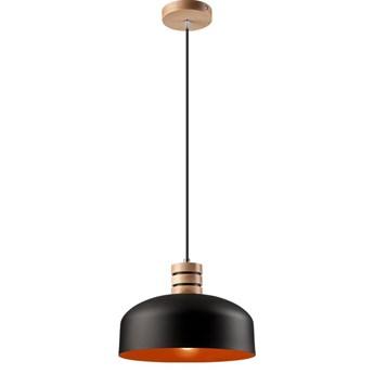 COSMO lampa wisząca 1-punktowa czarna / orange
