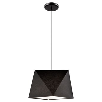 CARLA lampa wisząca 1-punktowa diament czarna
