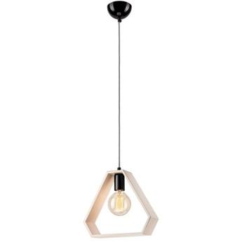 FRAME TRIPLE lampa wisząca - trójkąt biała