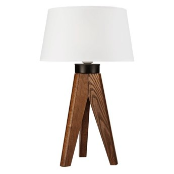 AIDA lampa stołowa z abażurem - dąb orzech