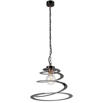 SPIRALA lampa wisząca 1-punktowa czarna