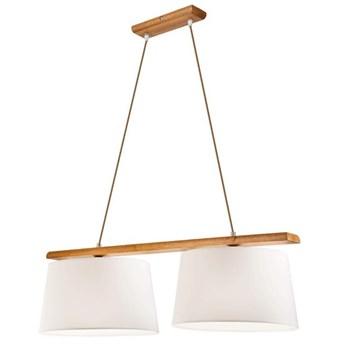 AIDA lampa wisząca 2-punktowa - dąb rustik