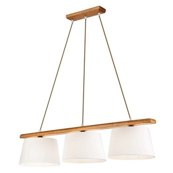 AIDA lampa wisząca 3-punktowa - dąb rustik