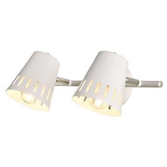 EMMA lampa sufitowa 2-punktowa biała - spot