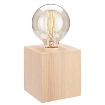 ARON lampka nocna kostka naturalny buk