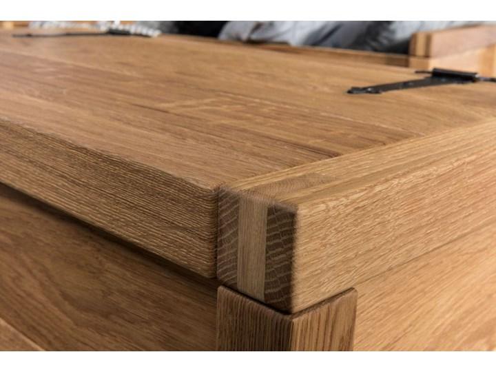 Skrzynia mała dębowa -  Box 1 Soolido Meble Styl Industrialny