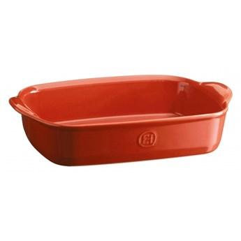 Prostokątne naczynie do zapiekania 30x19cm - czerwony kod: EH349650