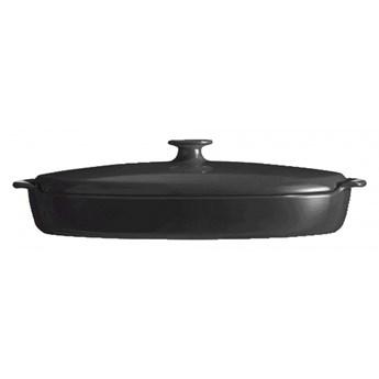 Naczynie do gotowania ryb na parze - 42x25cm - czarny kod: EH798443