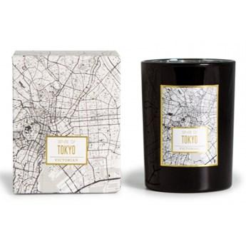 świeca zapachowa Tokyo: herbata ziołowa, do 45 godzin, śred. 8 x 10,5 cm kod: VI-5392408801