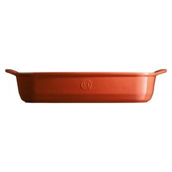 Duże naczynie do zapiekania - 42,5x28cm - czerwony kod: EH349654
