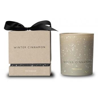 świeca zapachowa Winter Cinnamon: cynamon, do 38 godzin, śred. 8 x 9,5 cm kod: VI-5392450803