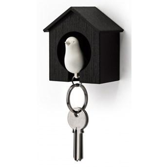 Wieszak na klucze budka czar/biały 10091-BK-WH kod: 10091-BK-WH